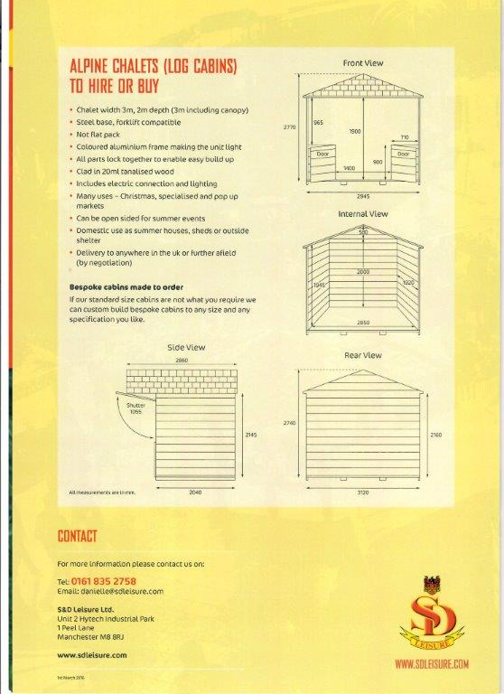 Christmas shed plan